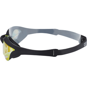 arena Cobra Ultra Mirror Svømmebriller, yellow revo-black-black